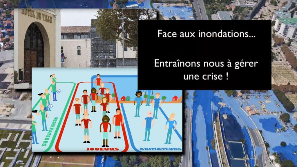 Lien vers clip : Face aux inondations, entraînons nous à gérer une crise