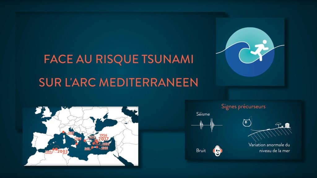 Face aux risque tsunami sur l'Arc Méditerranéen
