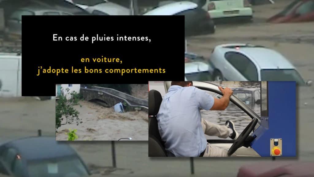 Lien vers le clip : En cas de pluies intenses, votre voiture peut devenir un piège mortel